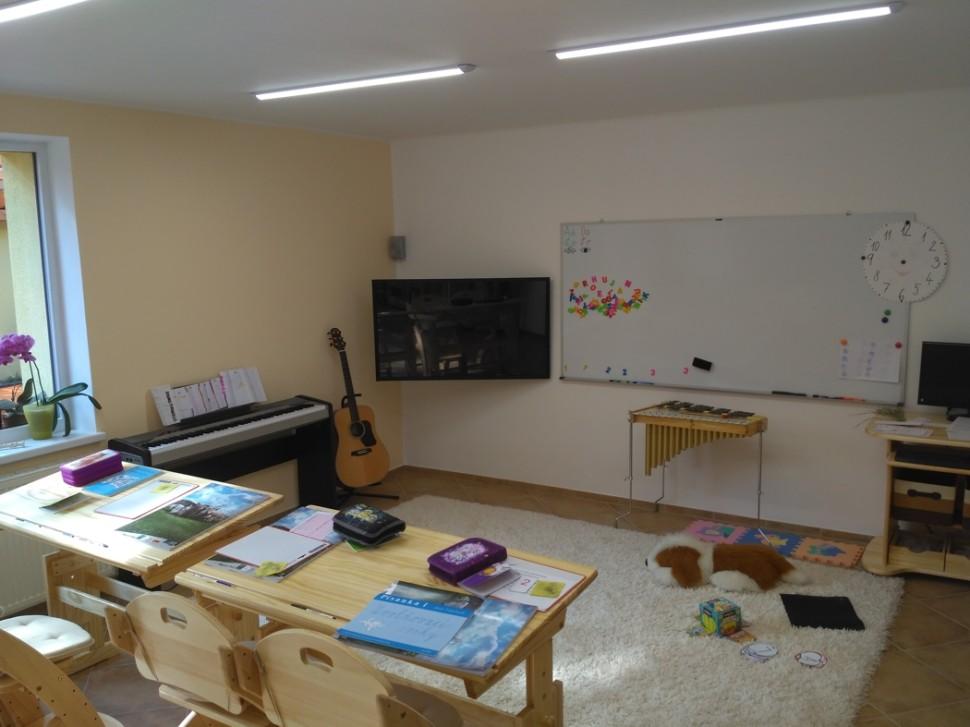 učebna pro individuální vzdělávání