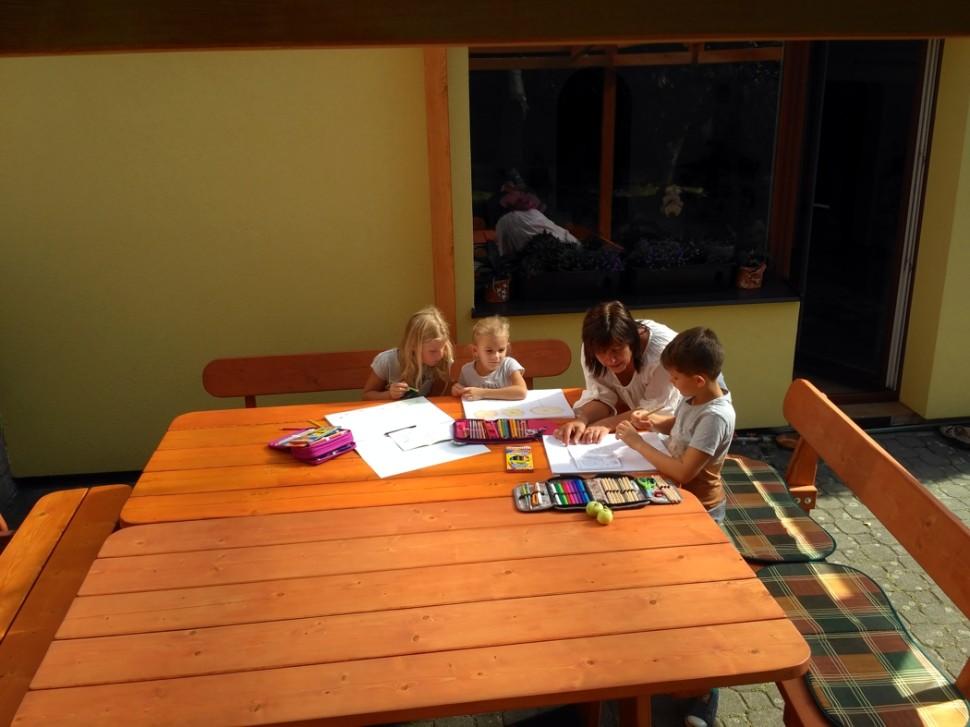 venkovní učebna pro individuální vzdělávání