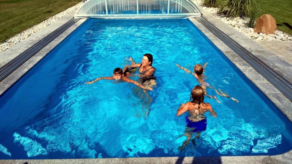 individuální vzdělávání spolku Vzdělávání sradostí, z.s. - plavecký výcvik