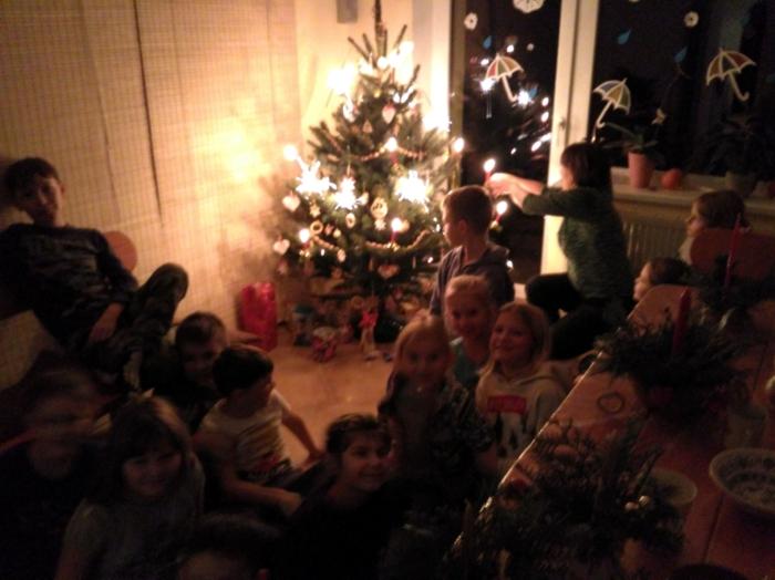 domácí vzdělávání Vánoce