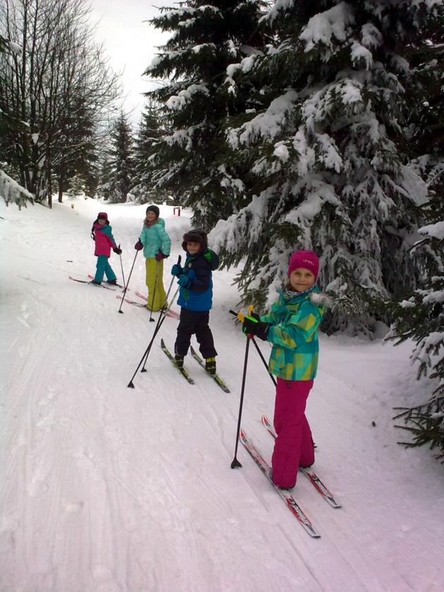 kurzy běžeckého lyžování pro děti