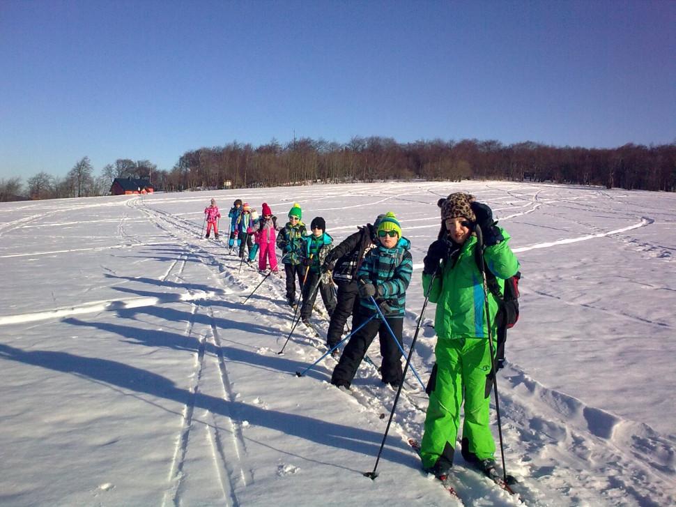kurz lyžování pro děti