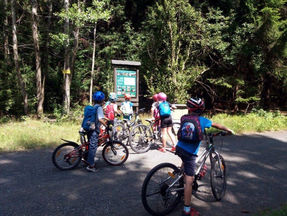 letní dětský tábor 2020 výlet nakolech zapoznáním přírody