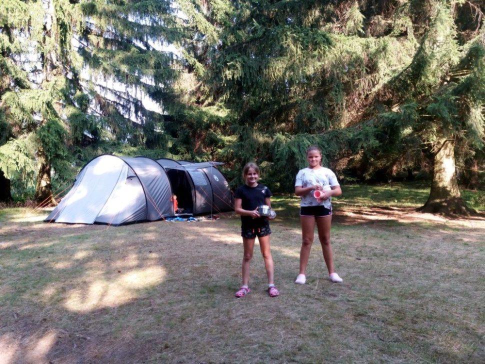 letní dětský tábor 2020 vlese