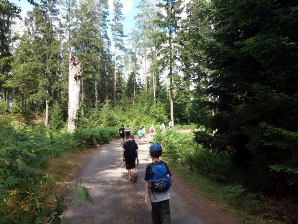 letní dětský tábor 2020 turistika