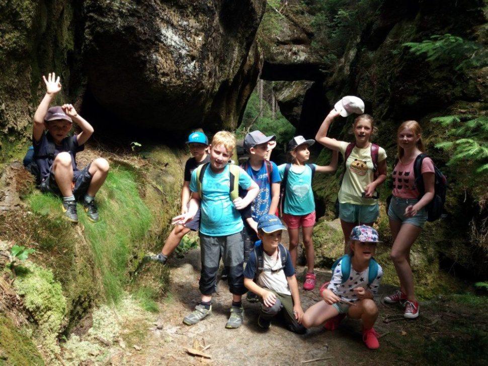 letní dětský tábor 2020 výlety