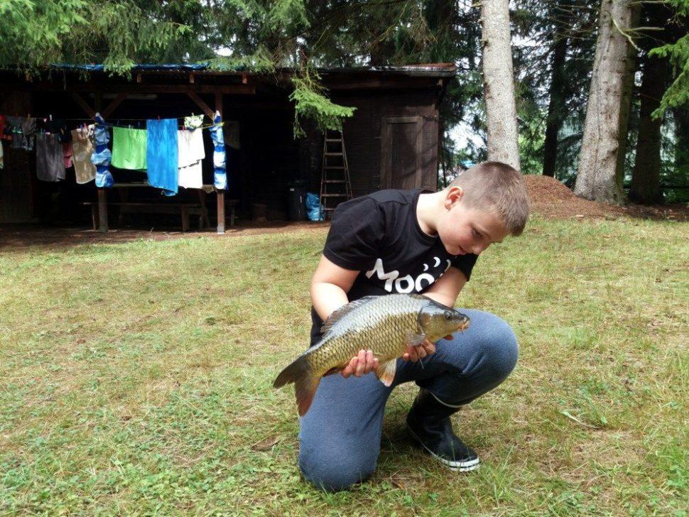 letní rybářský tábor 2020