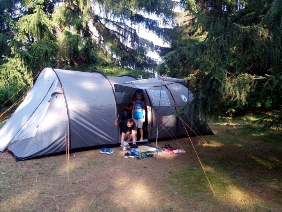 letní stanový tábor 2020