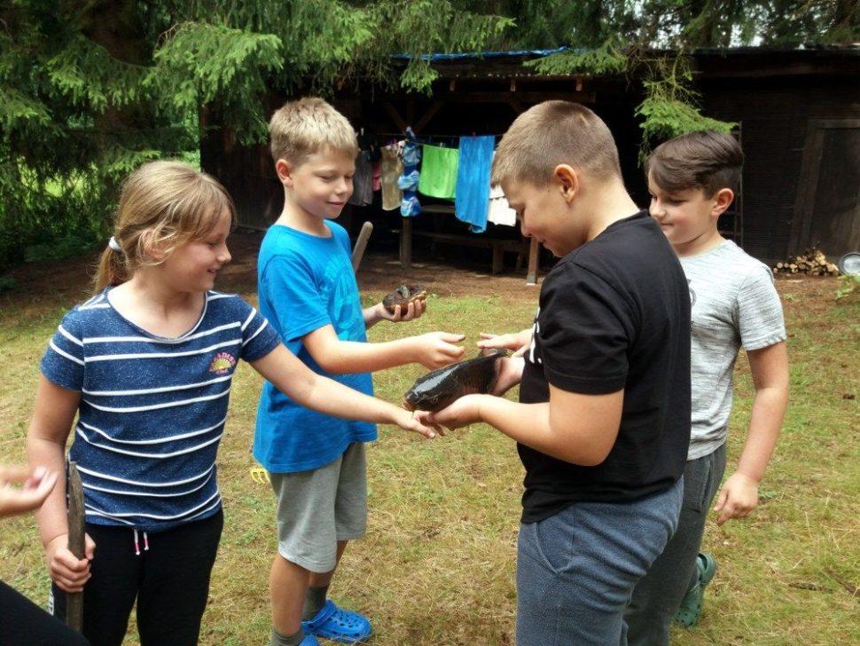 letní dětský tábor 2020 pro rybáře