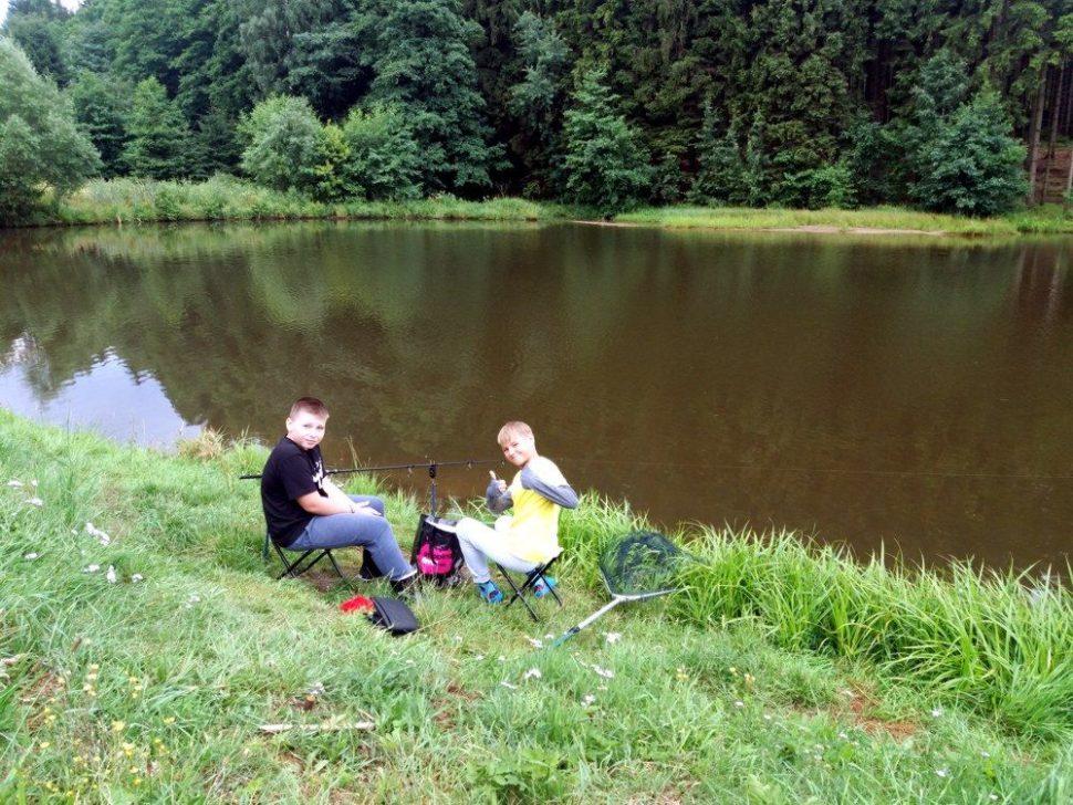 letní dětský tábor 2020 rybaření